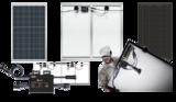 2 x 280Wp AEG Poly inclusief APS Micro Omvormer en aansluitset!_
