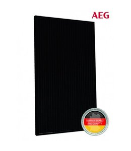 AEG 330Wp GLAS-GLAS All Black half cells